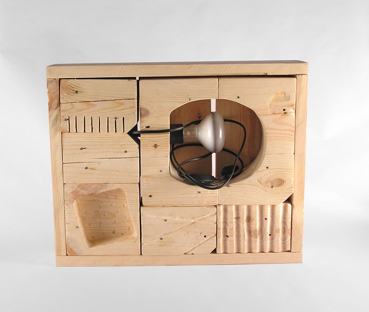 Scatola magica gioco legno design oggetti - Oggetti design legno ...
